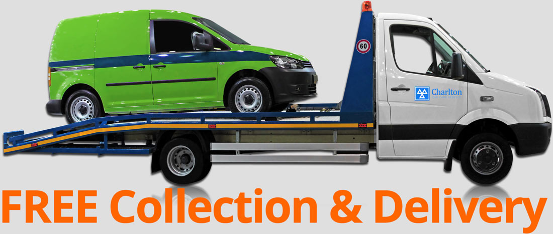 FREE Collection & Delivery Car carrier with green van on carriage